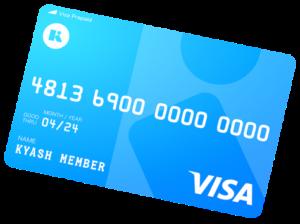 Kyashカード券面画像