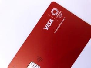Visa LINE Payクレジットカード券面画像