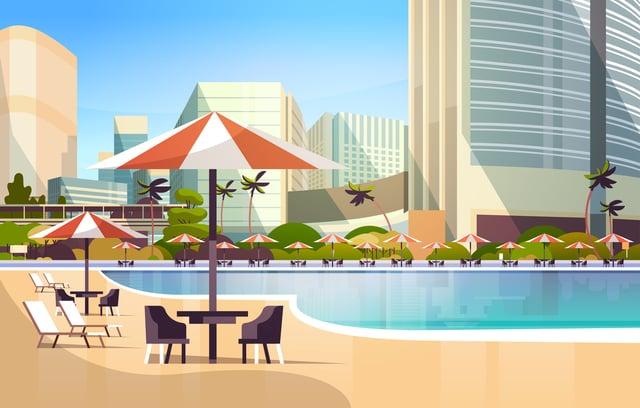 リゾートホテルイメージ
