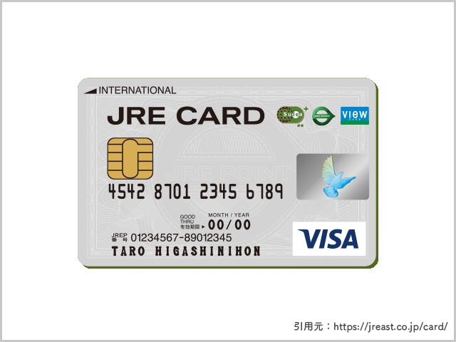 JRE CARDの画像