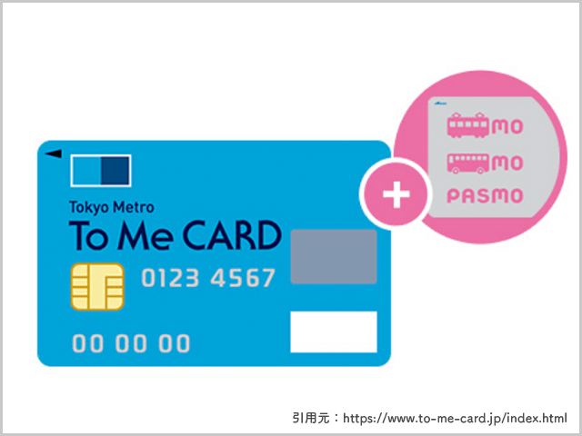 Tokyo Metro To Me CARDの画像