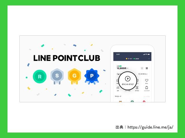 LINEポイントクラブの画像