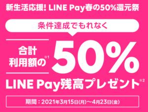 LINE Payプリペイドカードキャンペーン画像