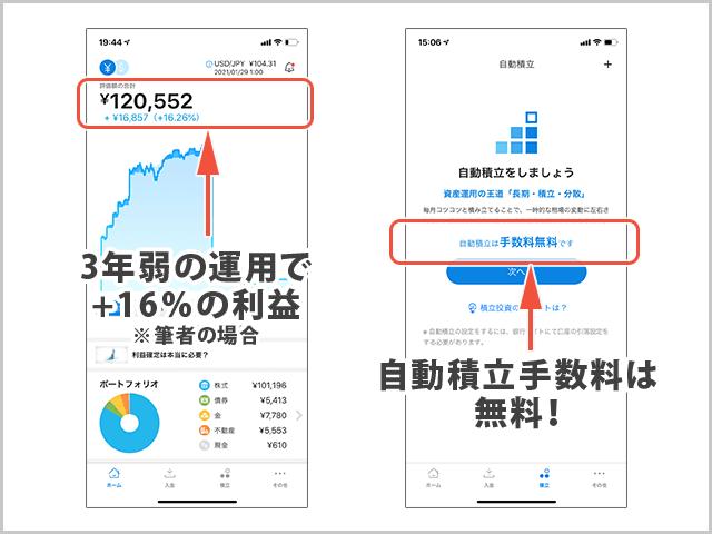 WealthNavi(ウェルスナビ)実用例紹介