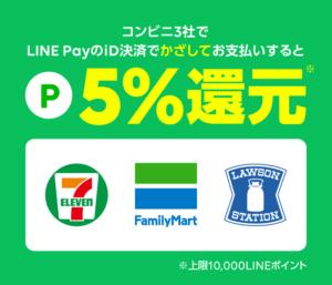 LINE Pay id払いキャンペーン画像